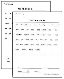 Phonetic Word Test 1 and 2